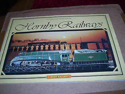HORNBY MODEL RAILWAYS TOY CATALOGUE 1979 25th EDITION NEAR EXCELLENT FOR AGE