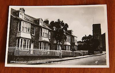 Springfields Hotel, St. Mary's. Isles Of Scilly.