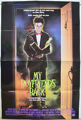 MY BOYFRIEND'S BACK (1993) Cinema One Sheet Poster - Andrew Lowery, Traci Lind
