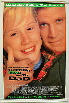 GETTING EVEN WITH DAD (1994) Original One Sheet Movie Poster - Macaulay Culkin