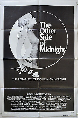 THE OTHER SIDE OF MIDNIGHT (1977) Cinema One Sheet Poster - Marie-France Pisier