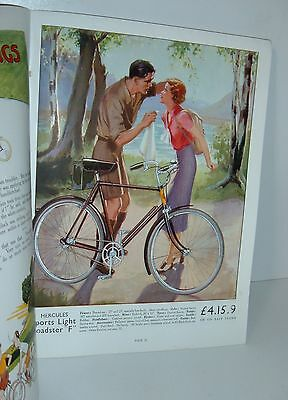 ** VINTAGE 1935 HERCULES CYCLE CATALOGUE with PRICES **