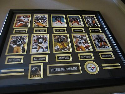 Pittsburgh Steelers Framed Legendary Art with FREE Shipping