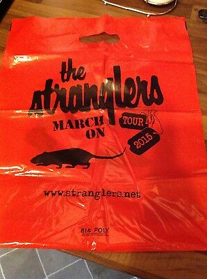 The Stranglers Tour 2015 Red Polybag!!!