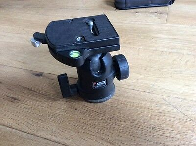 Manfrotto 488 RC4 oil filled ball head for photography tripod