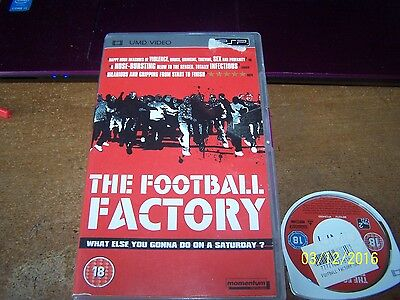pre watched umd film,psp,football factory