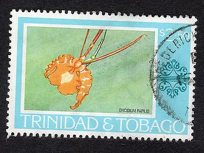 1976 Trinidad & Tobago $2.50 Oncidium papilio SG 494 GOOD Used R18327