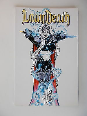 LADY DEATH - Gottlose Wege - Chas! Comic. Softcover / Z. 1-2
