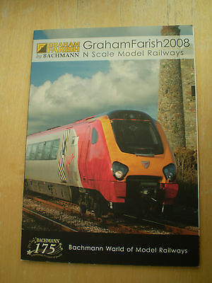 Graham Farish Model Railways Toy Catalogue 2008 Edition Excellent For Age