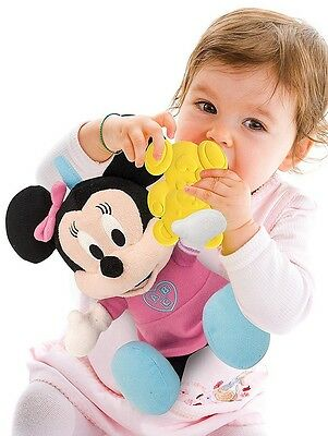Minnie Mouse Soft Toy Plush Girls Baby Cuddle Play & Learn Disney Christmas Gift