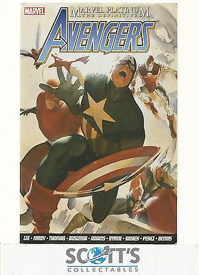 Marvel Platinum - Definitive Avengers NM  (Graphic Novel)