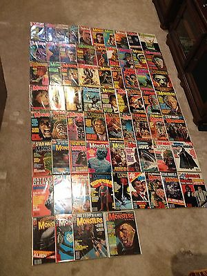 Famous Monsters Of Filmland Huge Lot Of 68 Isssues #31 Varies To #160