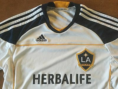 LA Galaxy junior football shirt. For age 13-14 years. See description.