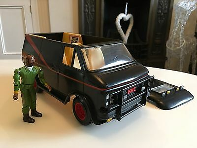 The A Team Vintage 1980s Galoob Mr.T. Figure And Gmc Van V.nice Rare