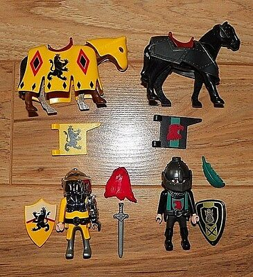 Playmobil Emperor's knights on Horses Advent Lot 4163