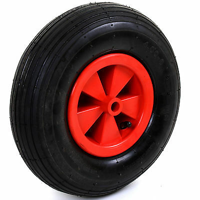 "12"" Wheelbarrow Wheel Tyre Sack Truck Trolley Rubber Replacement PneumaticTyre"
