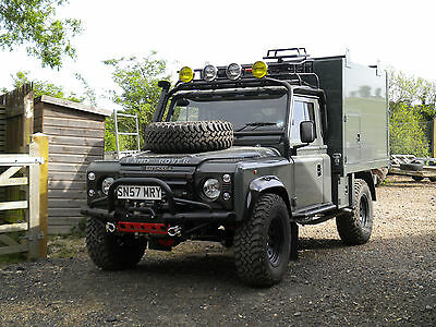 Land Rover Tipper Bespoke Td5-One Of The Best Built