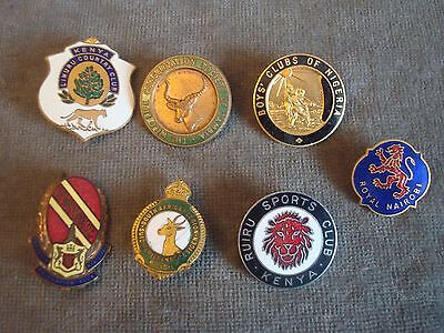South African & Other Rugby Club Enamel Badges & Pin Badges