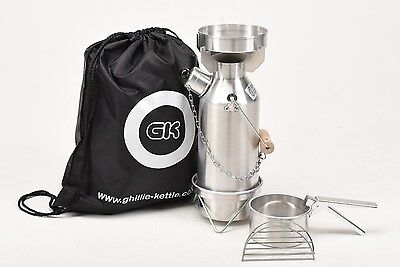 Ghillie Kettle/Storm Kettle 0.5L Maverick Aluminium Full Kit.