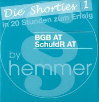 Hemmer, Karl E - Karteikarten Shorties Box 1: BGB AT, Schuldrecht AT