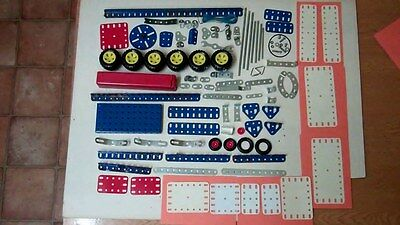 Vintage Meccano, Job Lot Of Pieces From Meccano 3000