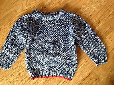 Bnwot blue next chunky knit jumper to fit 12-18 months