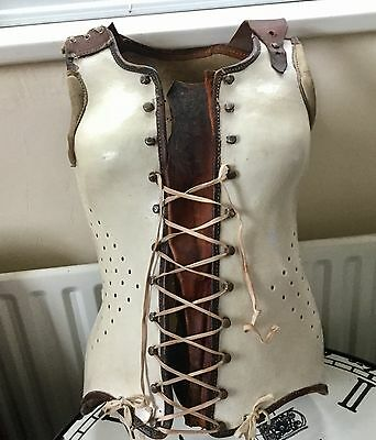 Rare Antique French Medical Scoliosis Corset