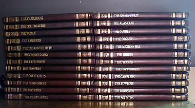 Lot Of 24 Time-Life Books The Old West