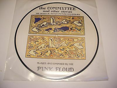 """Pink Floyd""""the Committee And Other Stories"""" Picture Disc 33-1985"""