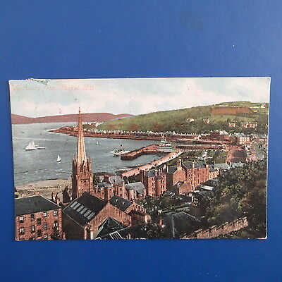 Old Postcard of Rothesay from Chapel Hill.