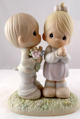 "521841 - ""Love Is From Above"" - 1989 Precious Moments Figurine"