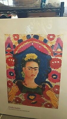 Frida Kahlo poster from San Francisco Museum of Modern Art