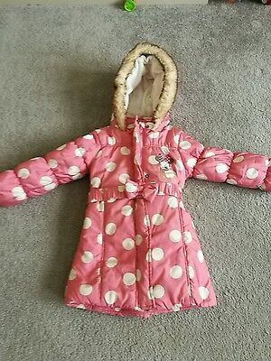 minnie mouse coat 3-4