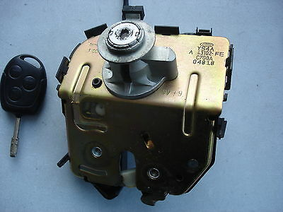 Ford Focus Hatchback Complete Boot Lock And Solenoid With Key 1998 To 2004