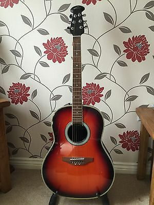 Applause By Ovation AE21 Summit Series Electro Acoustic Guitar.