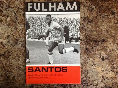 RARE FULHAM Football programmes (1970's x 3) PELE, MULLERY