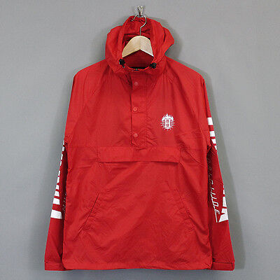 HUF x Thrasher TDS Packable Anorak Jacket Red
