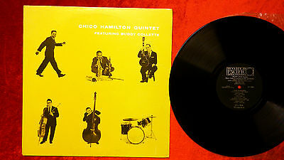 J 32 Chico Hamilton Quintet Buddy Collette World Pacific Pj 1209