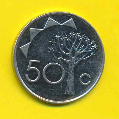 Namibia  50 Cents  2010  KM 3  UNC