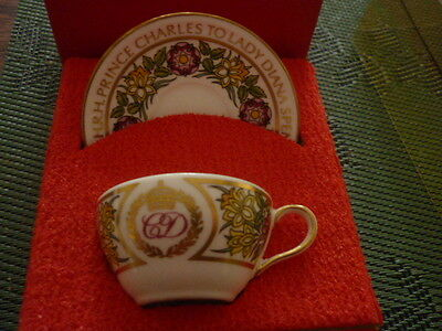 Charles And Princess Diana Cup And Saucer