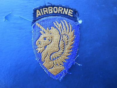 Wwii13Th Airborne Division Patch & Tab And Di