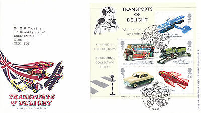18 SEPTEMBER 2003 TRANSPORTS OF DELIGHT M/S ROYAL MAIL FIRST DAY COVER BUREAU a