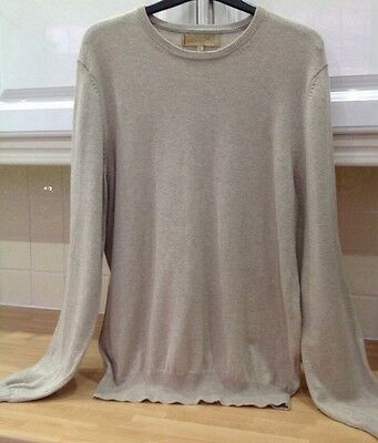 cashmere and cotton jumper M & S