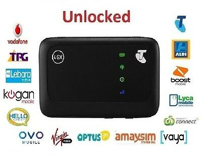New *Unlocked* Telstra 4GX Wifi ZTE MF910v Modem (Optus, Vodafone, Telstra)