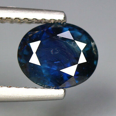2.04 Cts~Top Rare Gem Collection~100 % Natural Unheated Blue Sapphire~Ceylon