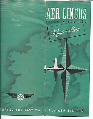 Aer Lingus Route Map