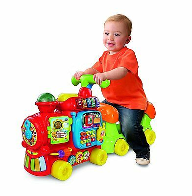 Vtech Baby Push and Ride On Alphabet ABC Toy Train Walker 12-36 Months Toddler