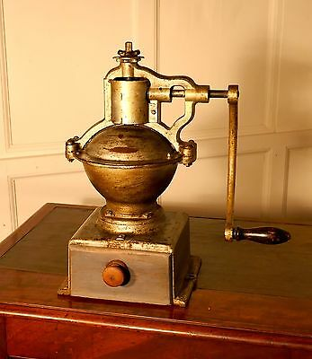 French Cast Iron Number 2 Coffee Grinder
