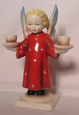 1950s Goebel Candle Stick in the form of an Angel