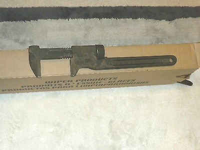 Vintage Trimo Monkey Wrench Size 12 Adjustable Pipe Wrench Trimont Steampunk